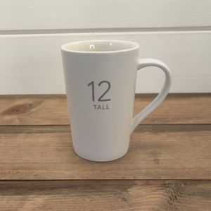 Starbucks Matte White 12 Tall Mug